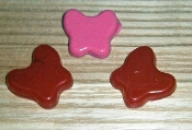 Silicone Butterflies Style Isolator Foot/Pad Insulator Small