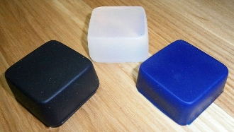 Silicone Square Low Profile Style Foot/Pad Isolator
