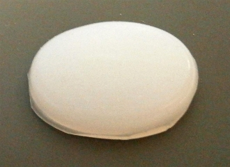 Small Oval Silicone Isolator Foot/Pad
